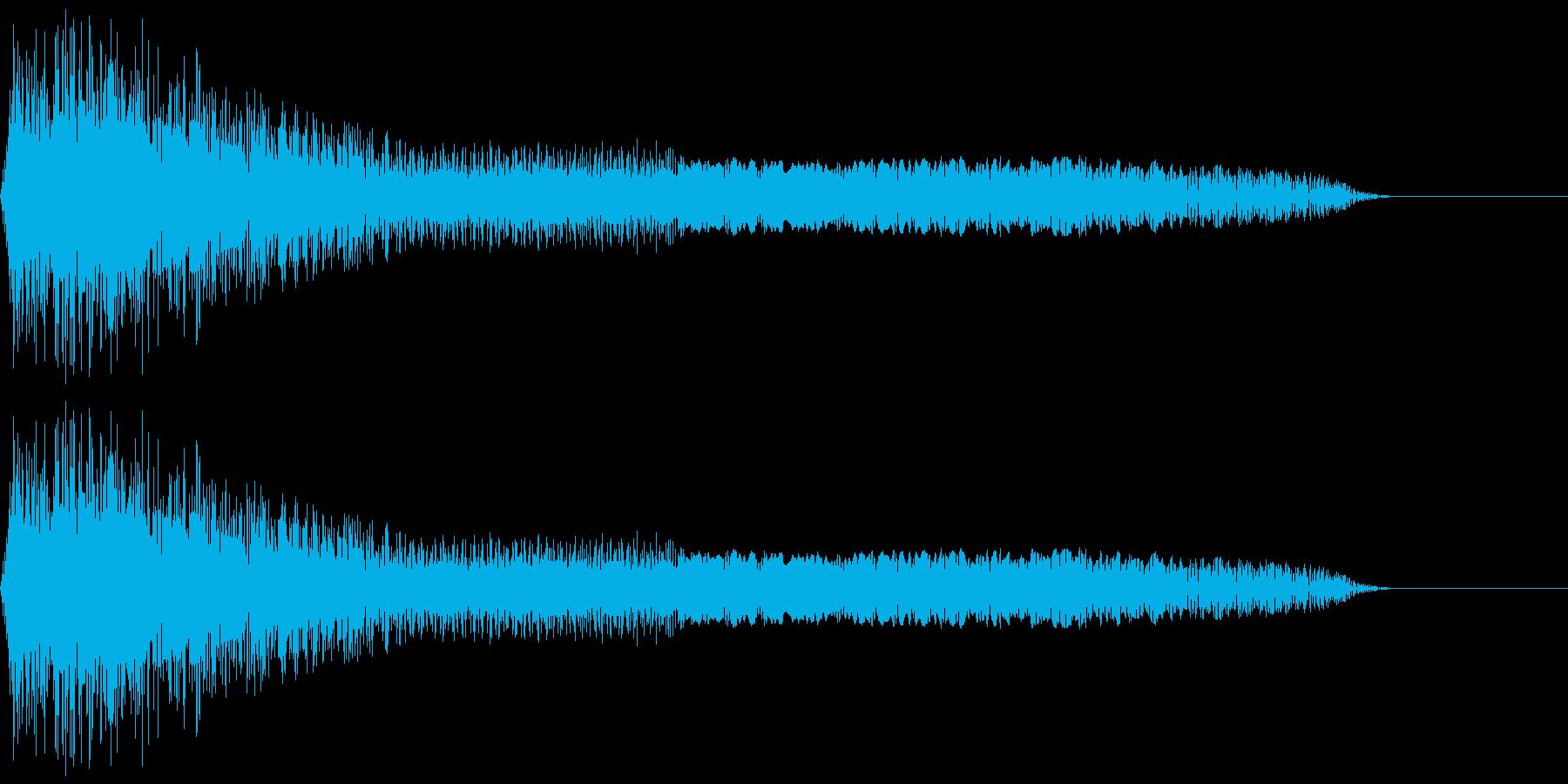 パイーン(ファミコン/攻撃/変な音の再生済みの波形