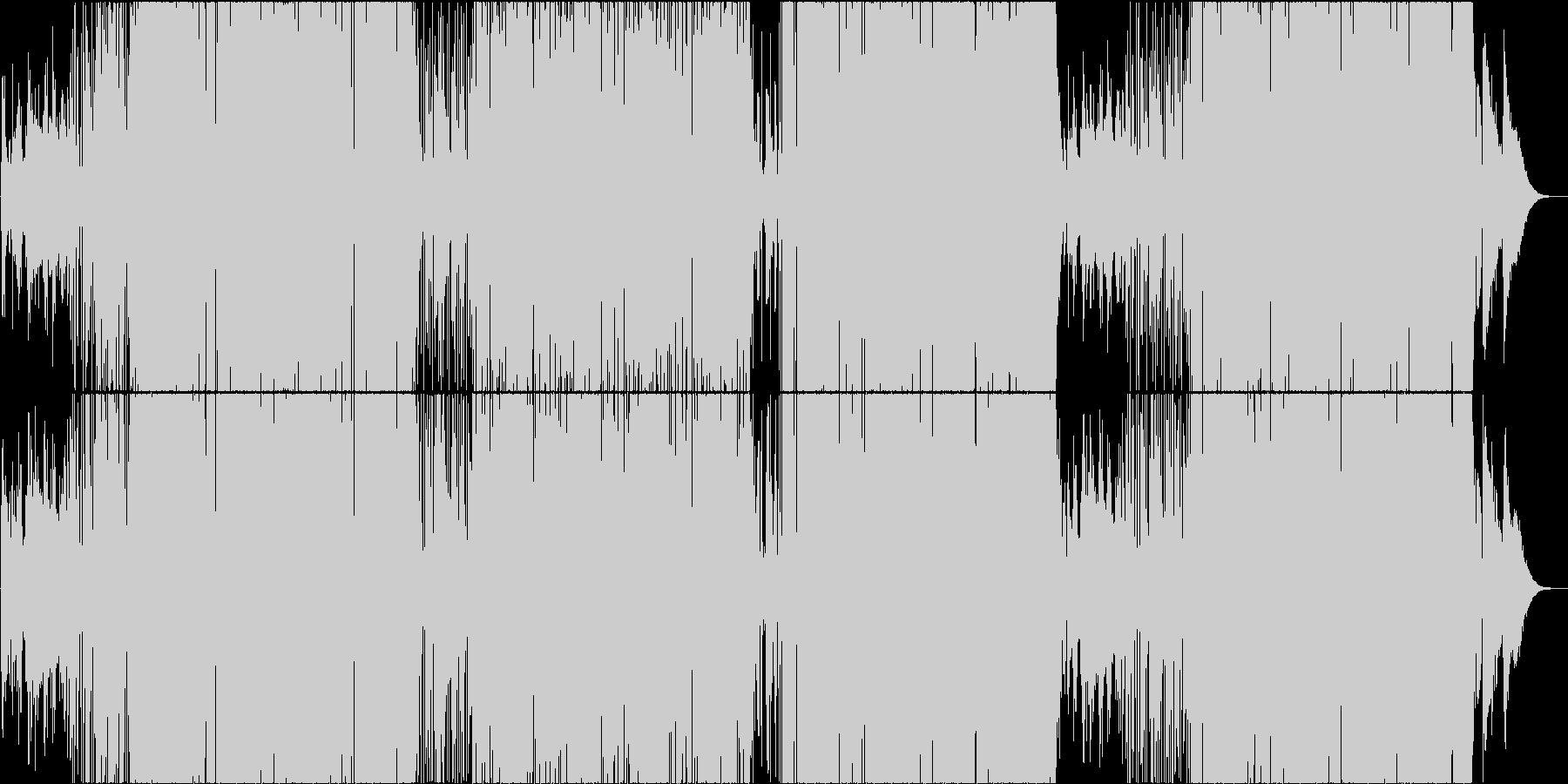 映像用ファンキーなスムースジャズの未再生の波形