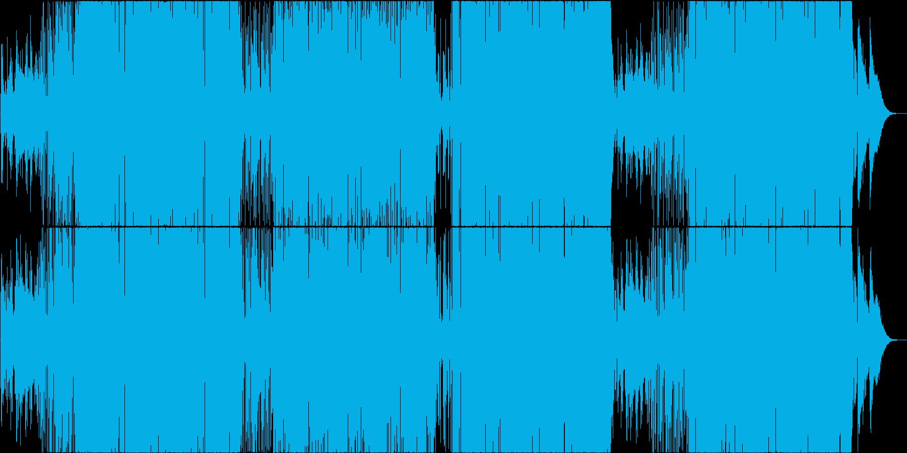 映像用ファンキーなスムースジャズの再生済みの波形