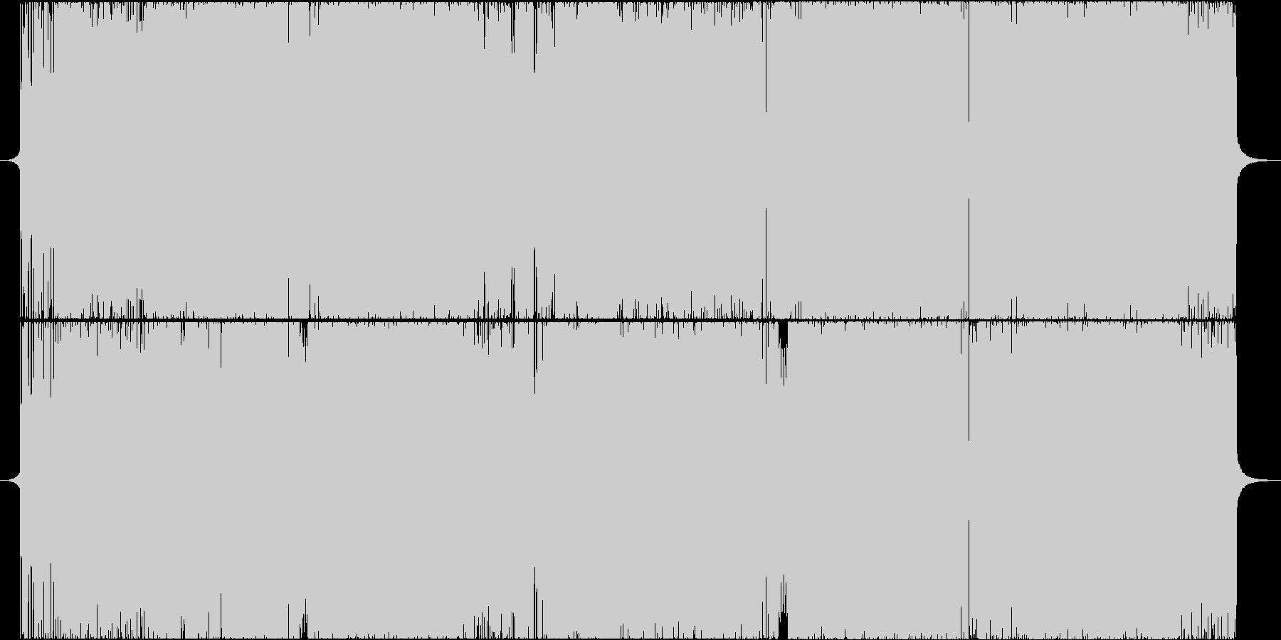 少年ジャンプ・アニメ・オープニングの未再生の波形
