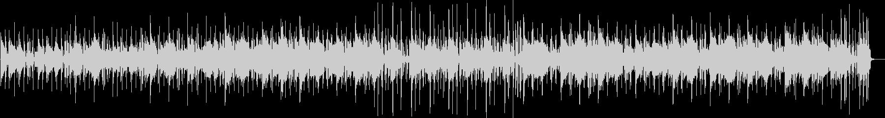 フワフワ感、スローなトランペットの曲の未再生の波形