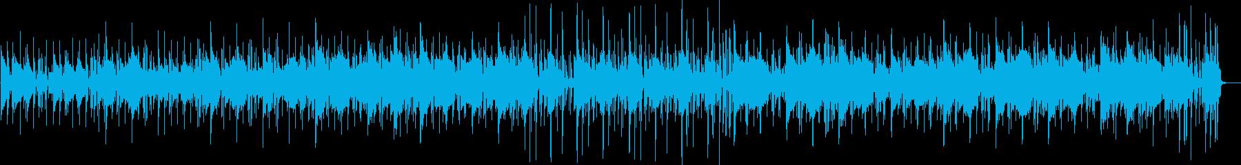 フワフワ感、スローなトランペットの曲の再生済みの波形