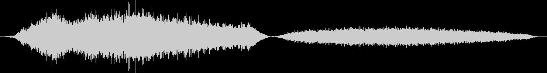 Python、ビルマのヒス。長いヒ...の未再生の波形