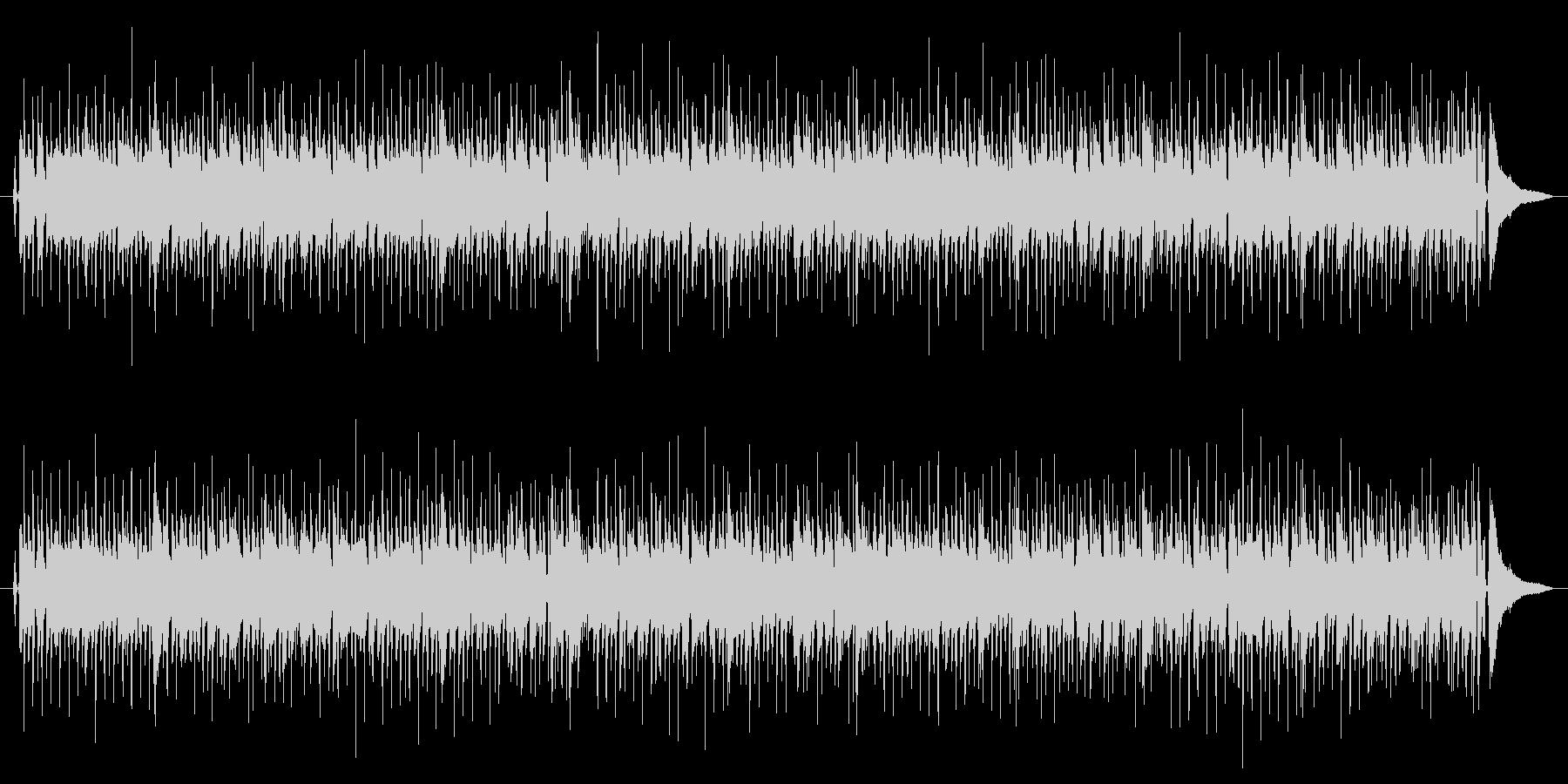 ジプシージャズのカラオケバージョンの未再生の波形