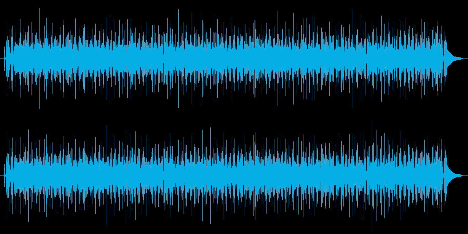 ジプシージャズのカラオケバージョンの再生済みの波形