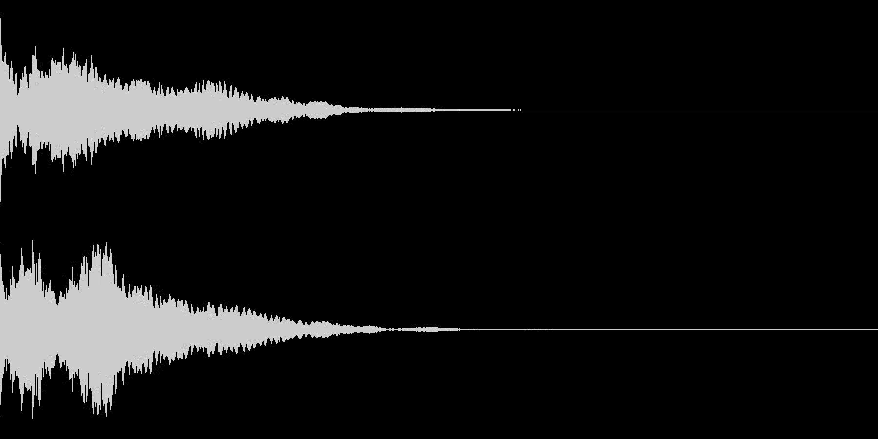 ピポリーンの未再生の波形