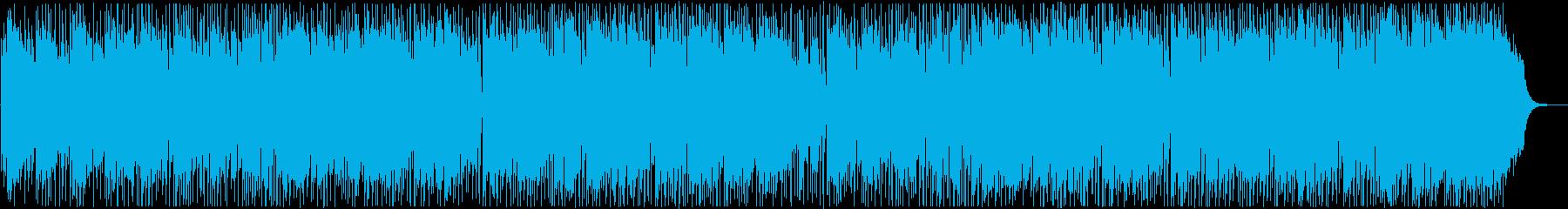 初夏の映像によく合う、さわやかなBGMの再生済みの波形