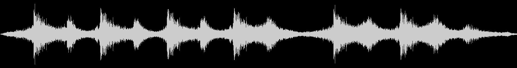 現代的 交響曲 アンビエント ドラ...の未再生の波形