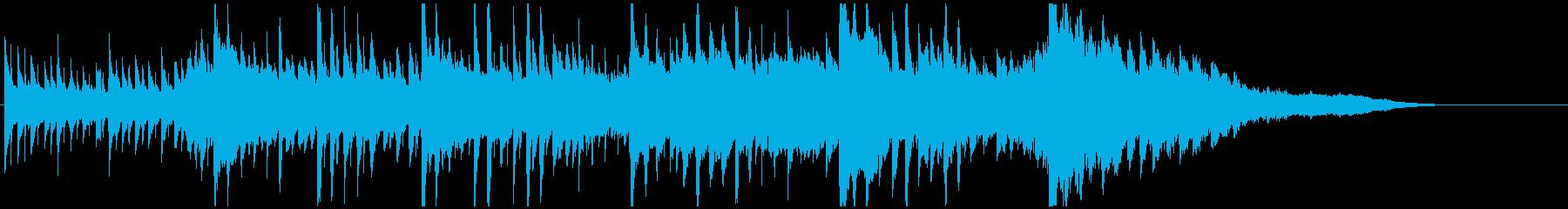 壮大ピアノジングル 感動的迫力ドキドキ感の再生済みの波形