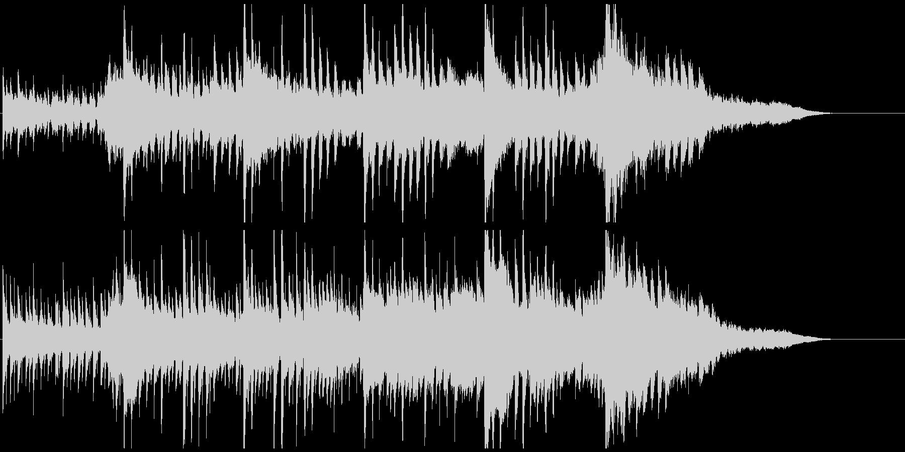 壮大ピアノジングル 感動的迫力ドキドキ感の未再生の波形