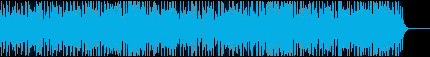日本の夜祭りをイメージしたBGMの再生済みの波形