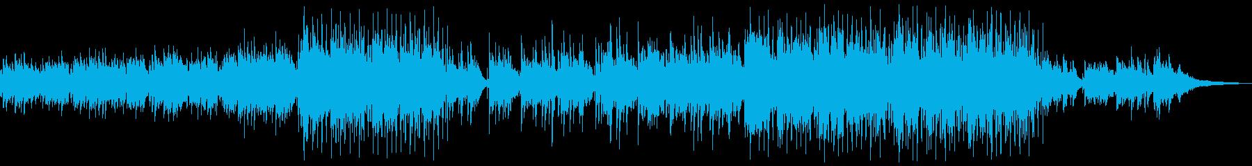 ノスタルジックなアコギアンサンブルの再生済みの波形