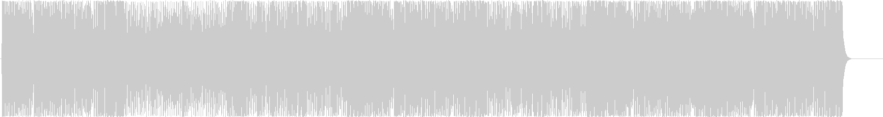 Energetic and dynamic BGM's unreproduced waveform