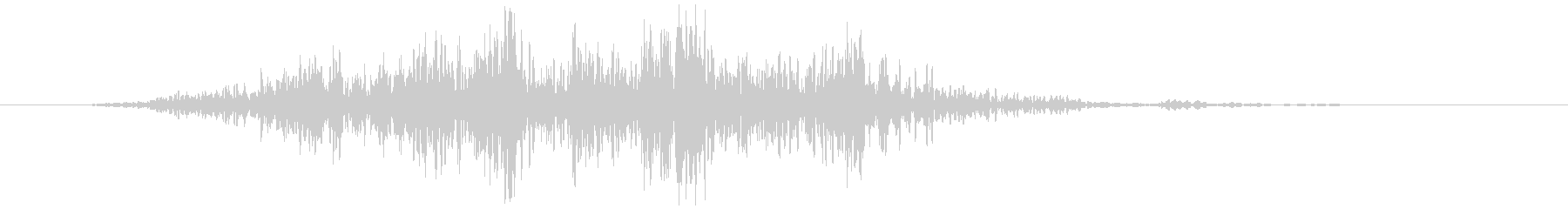 箱(動かす、引きずる)ズスッの未再生の波形