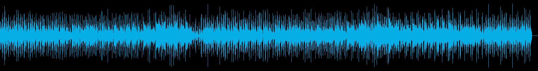 ピンクのイメージでウクレレ・アコギポップの再生済みの波形