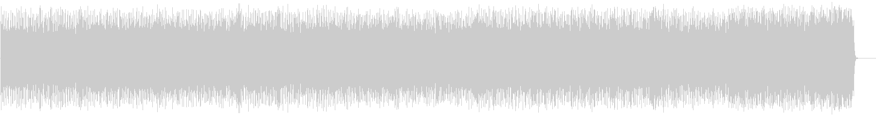 激しくスリリングなロック/ハードの未再生の波形