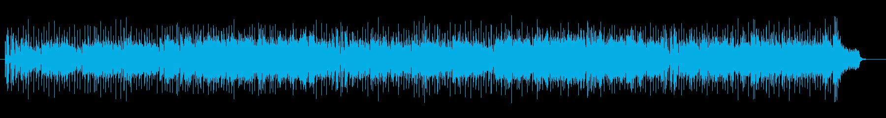 さわやかな歌謡曲風の再生済みの波形