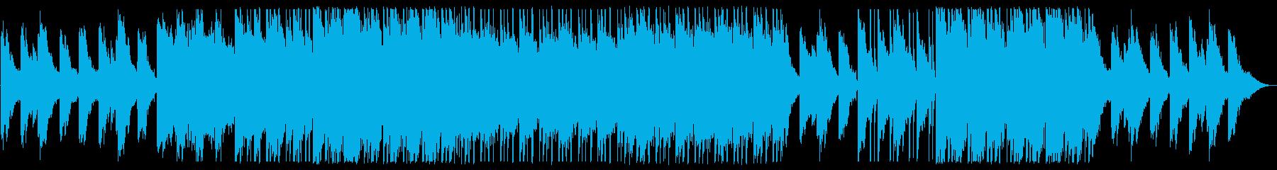 ダークで神秘的なチルアウトの再生済みの波形