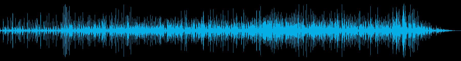 軽快なラテンのノリでポップなカリンバをの再生済みの波形