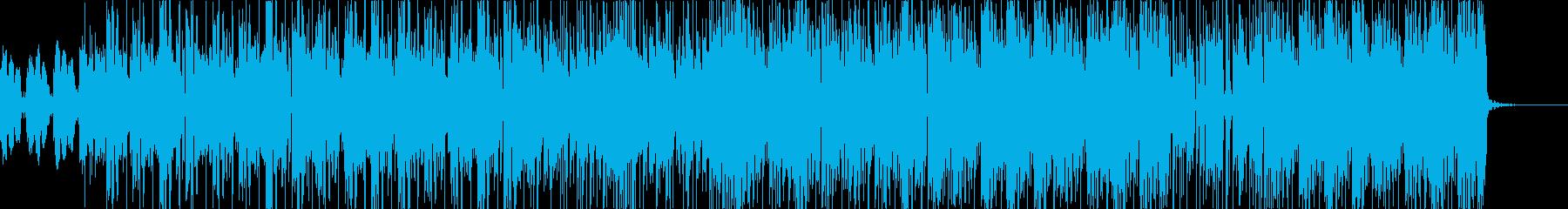 夏をテーマにしたモダンなポップ/ ...の再生済みの波形