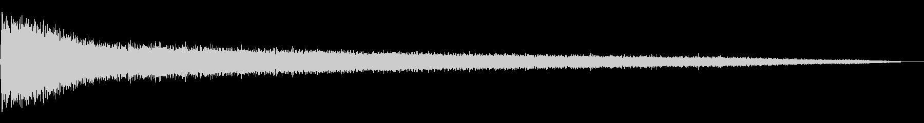 トラブルトンネルの未再生の波形