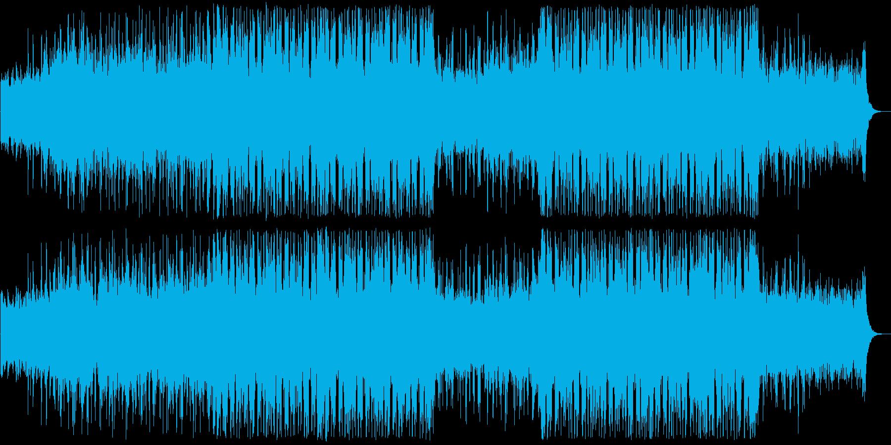 神秘的なアンビエントフューチャーベースの再生済みの波形