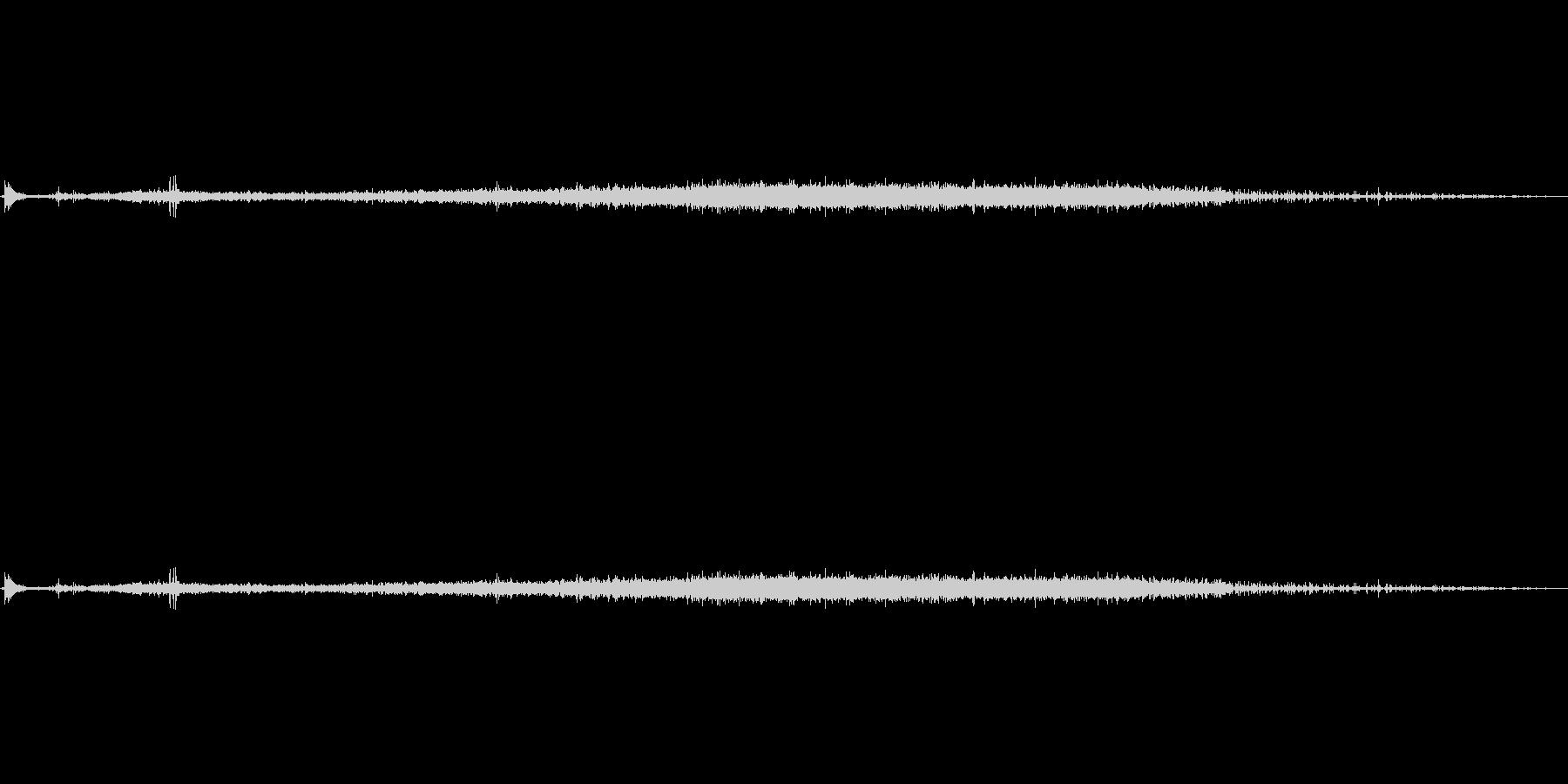 炭酸、そそぎ、シュワーの未再生の波形