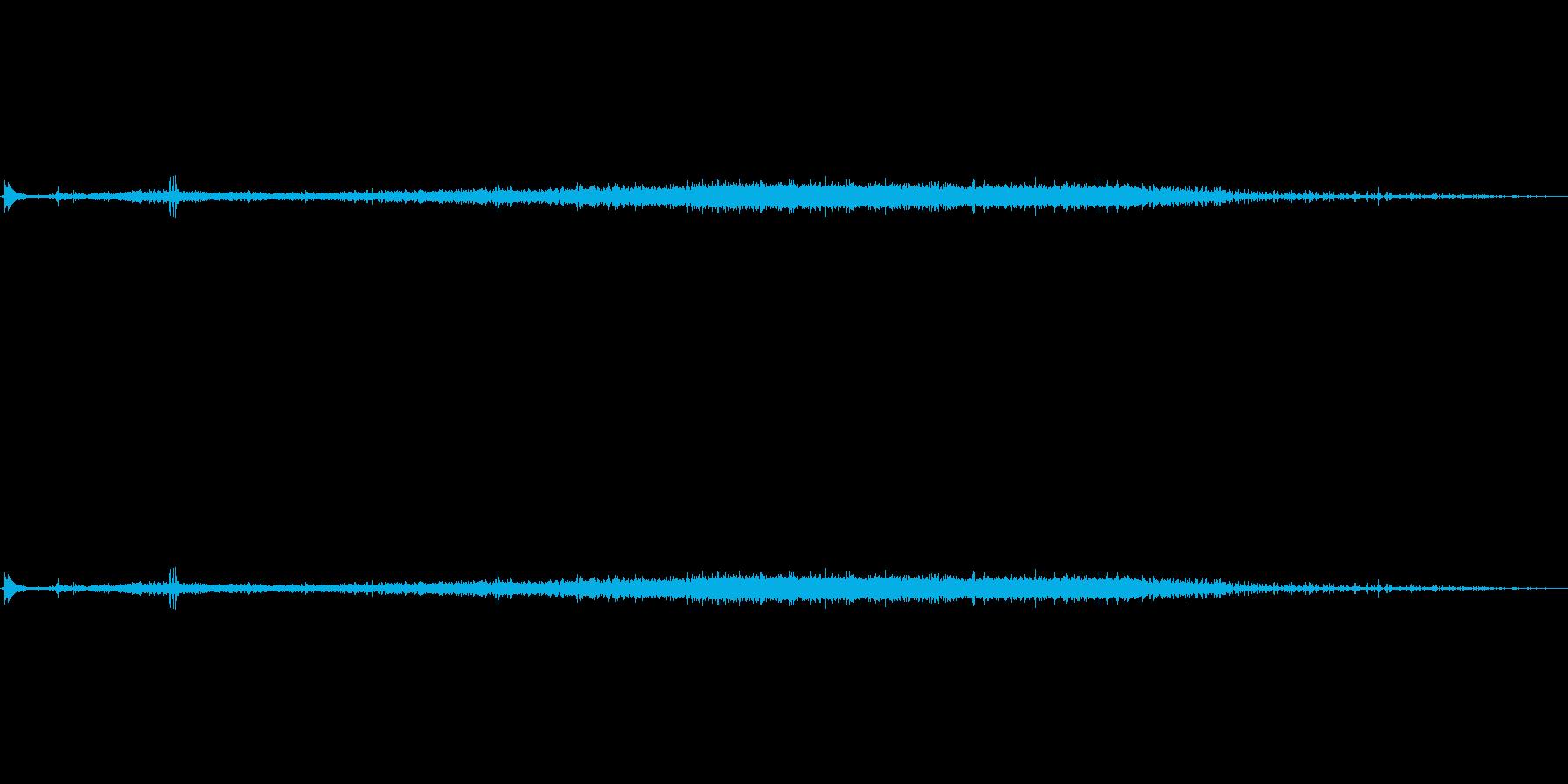 炭酸、そそぎ、シュワーの再生済みの波形