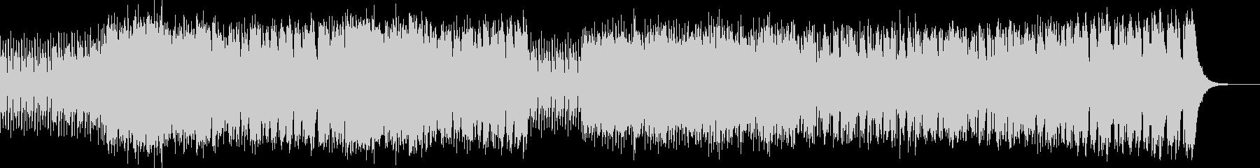 スピード感 躍動的サックスジャズビートの未再生の波形