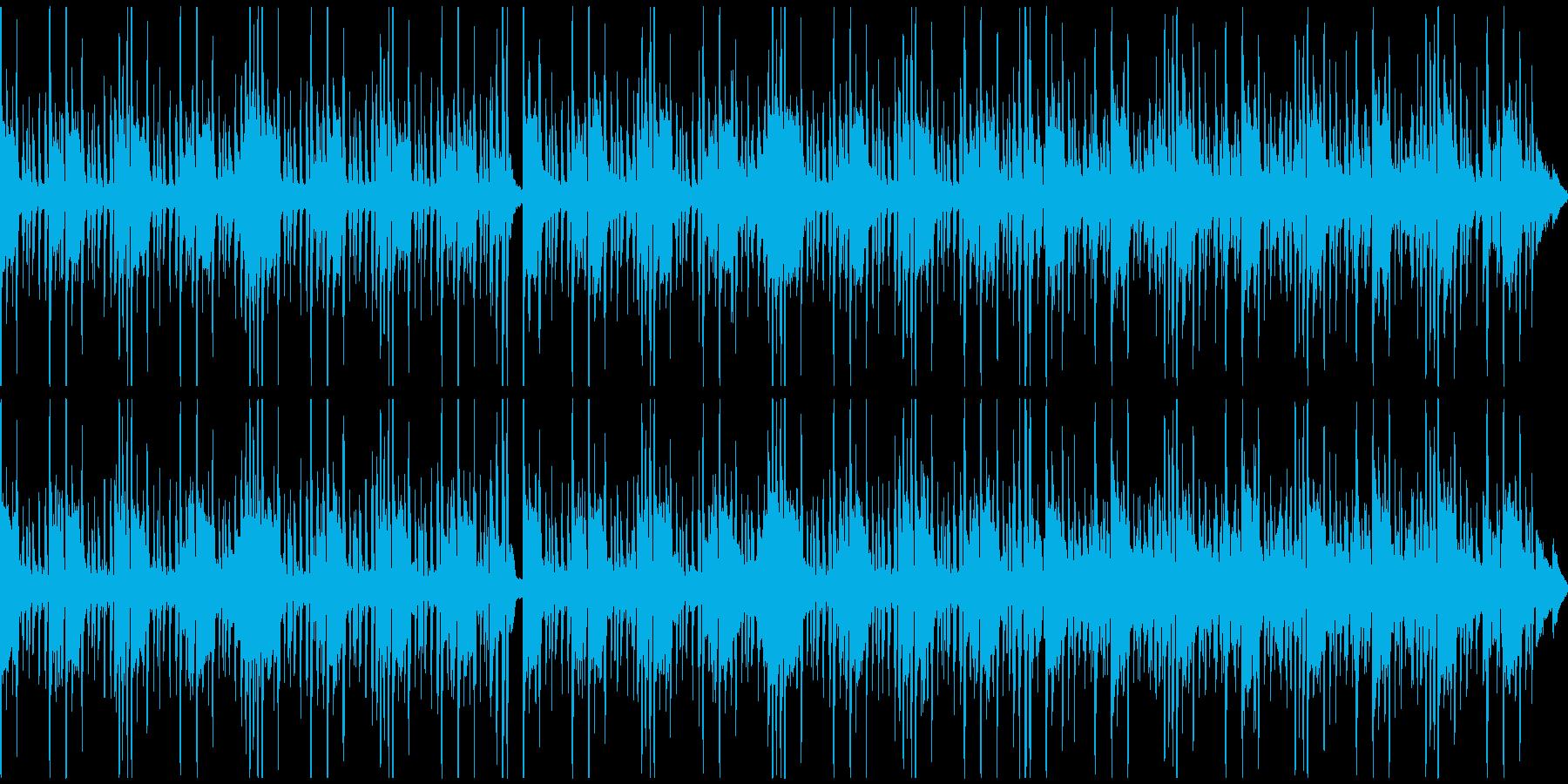 スタイリッシュなピアノが印象的なポップスの再生済みの波形