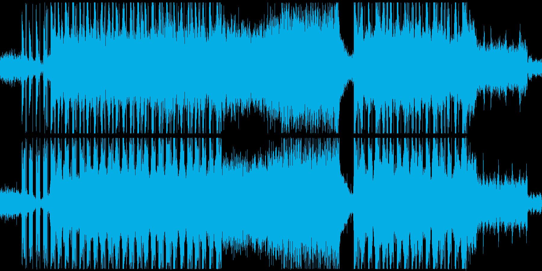 神秘的な雰囲気のアンビエントテクスチャーの再生済みの波形