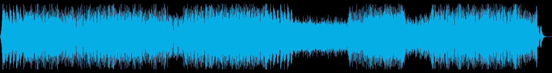 キャッチーなテクノ系EDMの再生済みの波形