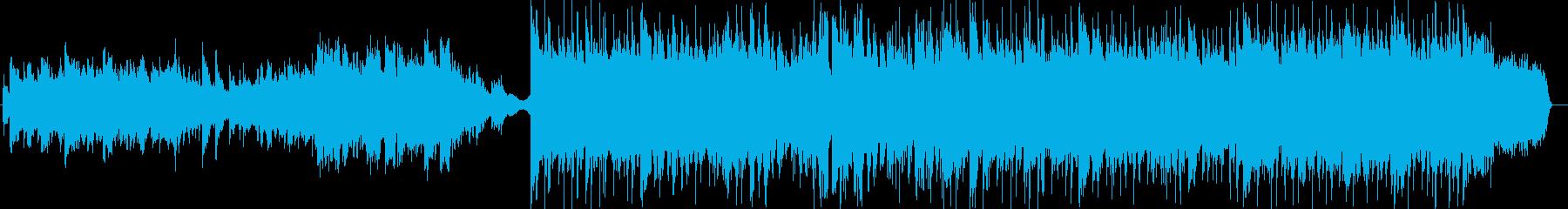 感動・盛り上げ系ピアノ曲の再生済みの波形