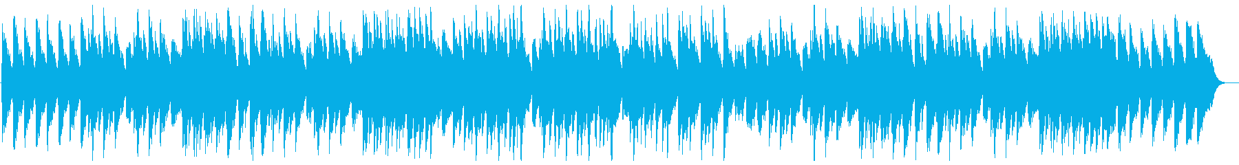 やさしくて癒されるオルゴールの再生済みの波形
