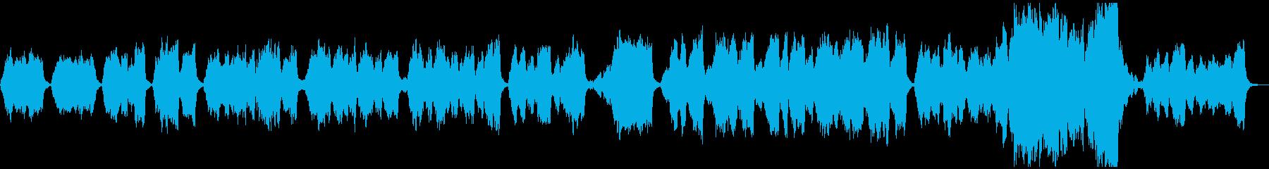クリスマス定番曲・オーケストラアレンジの再生済みの波形