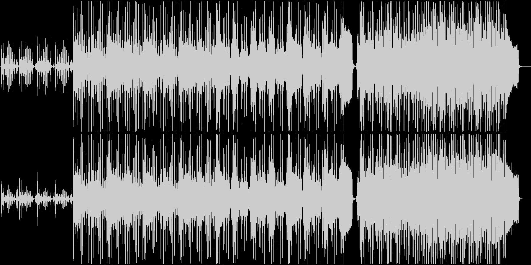 ほのぼのコンセプトなCM イベント告知にの未再生の波形