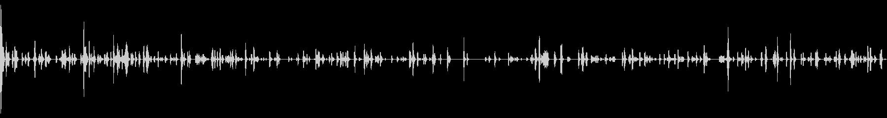 一定の変動音、コンピューター、電子の未再生の波形