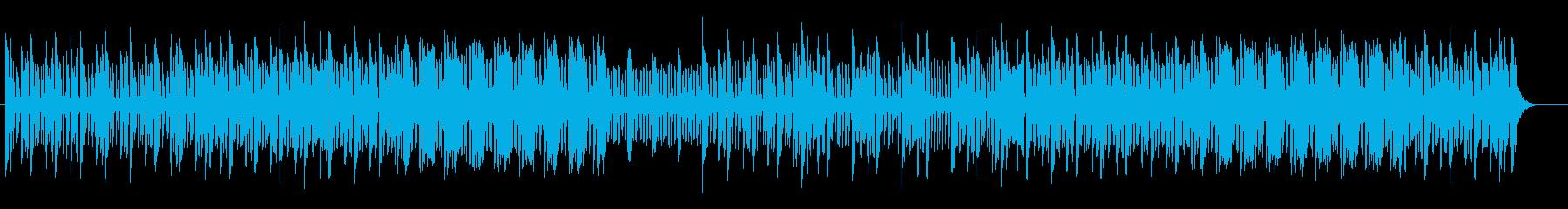 疾走感のあるエレクトロポップスの再生済みの波形