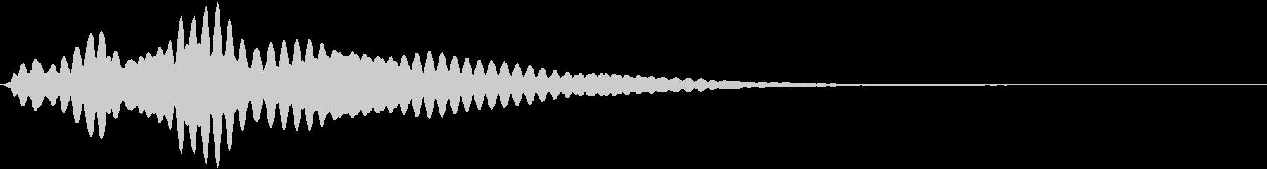 【ホラーゲーム】 ピー・・・の未再生の波形