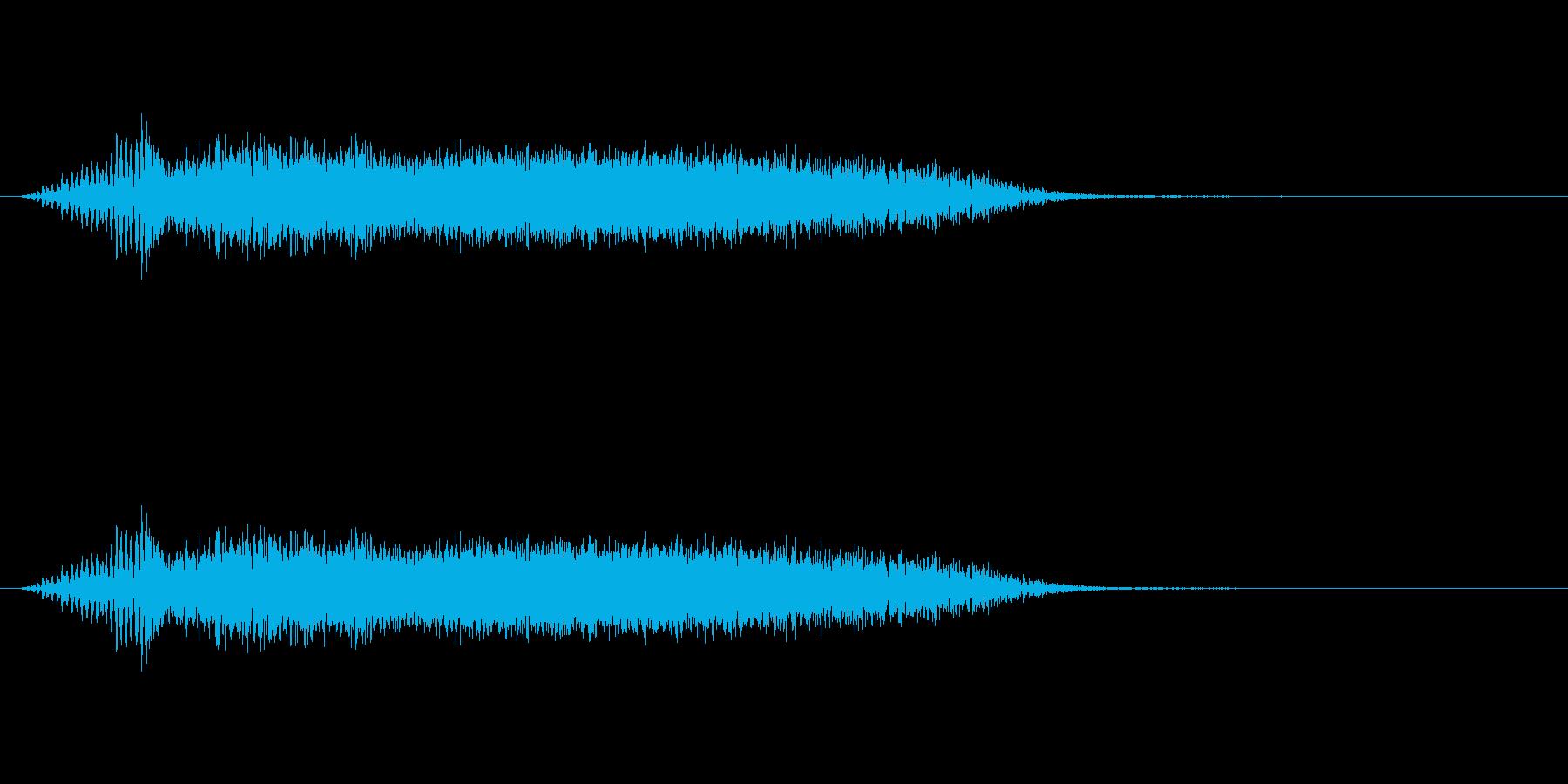 衝撃 歪んだ爆発09の再生済みの波形