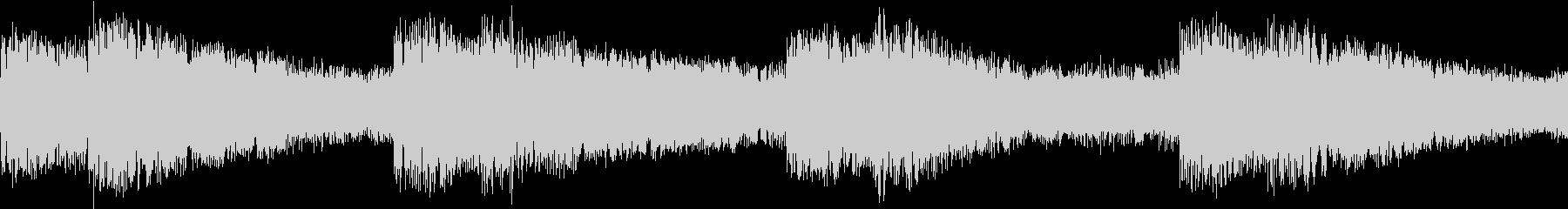 シンセ サイレン アナログ ピコピコ02の未再生の波形