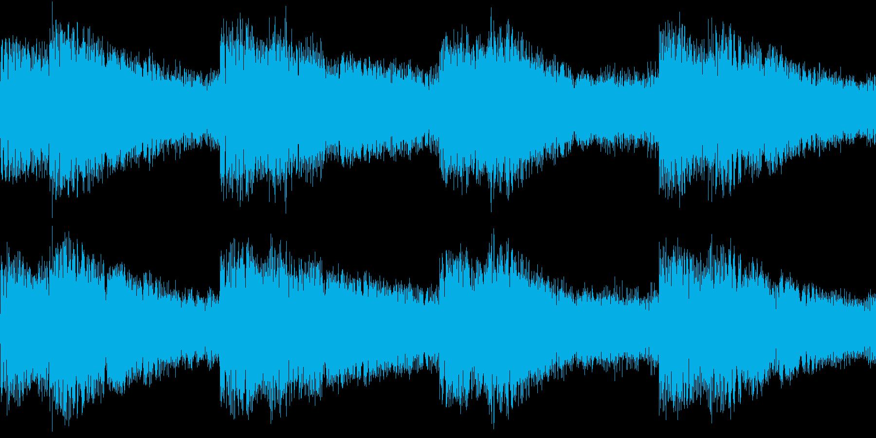 シンセ サイレン アナログ ピコピコ02の再生済みの波形