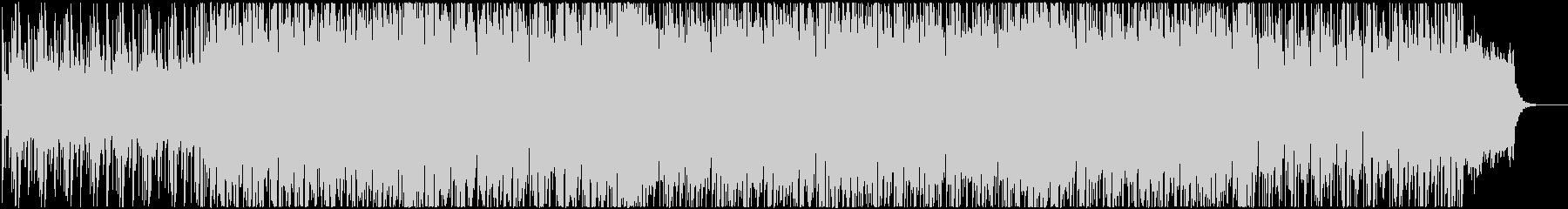 浮遊感あるシンセサイザーのポップな曲の未再生の波形