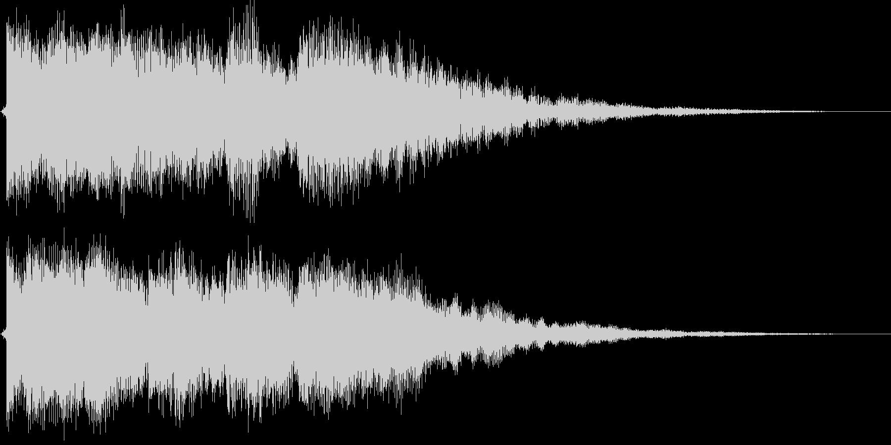 ティロロンティントントン(ベル的)の未再生の波形