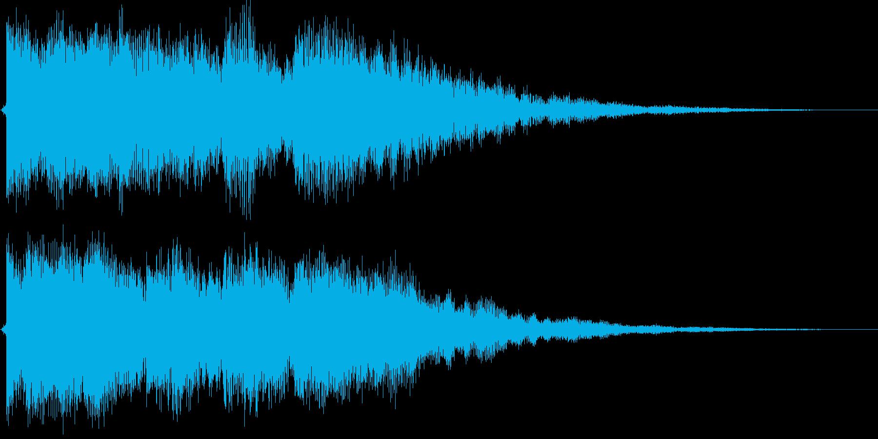 ティロロンティントントン(ベル的)の再生済みの波形