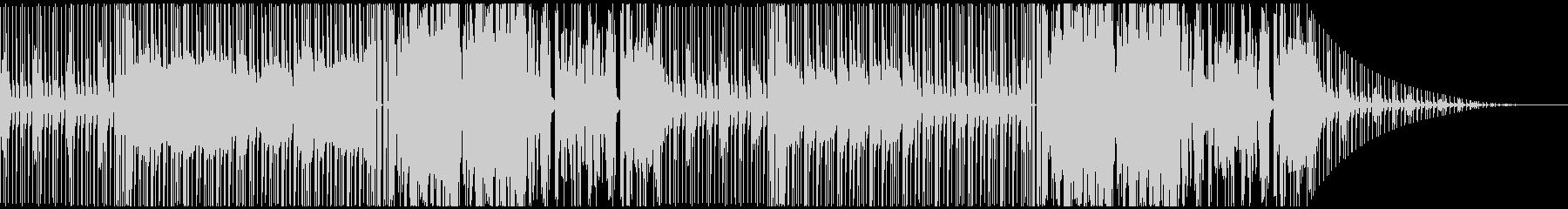 和風ダークヒップホップ6(三味線,尺八)の未再生の波形
