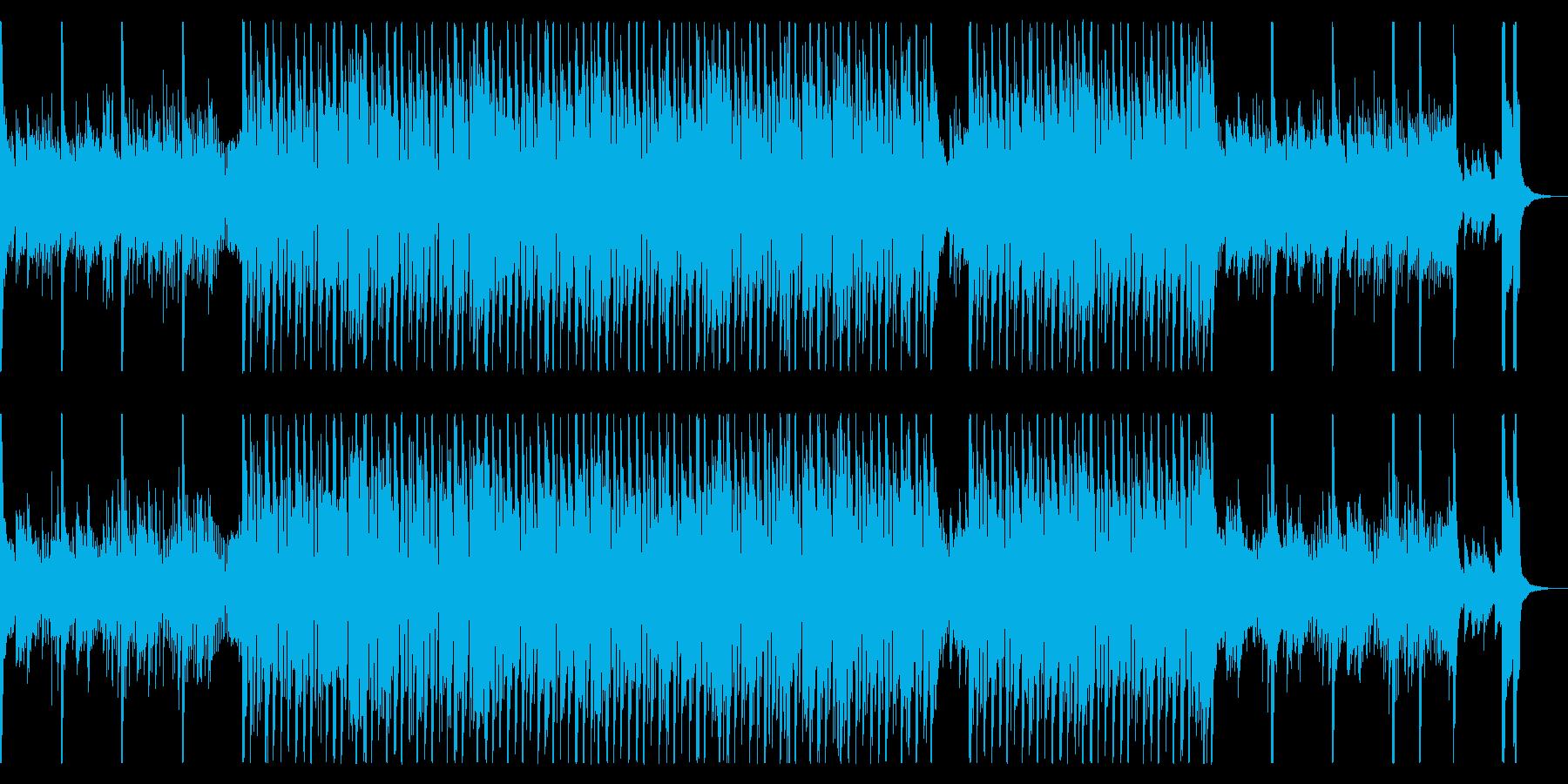 心弾む軽やかなポップスの再生済みの波形