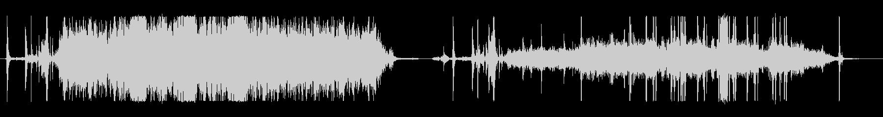 コピー機、騒々しい、2つのバージョ...の未再生の波形