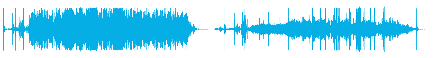 コピー機、騒々しい、2つのバージョ...の再生済みの波形