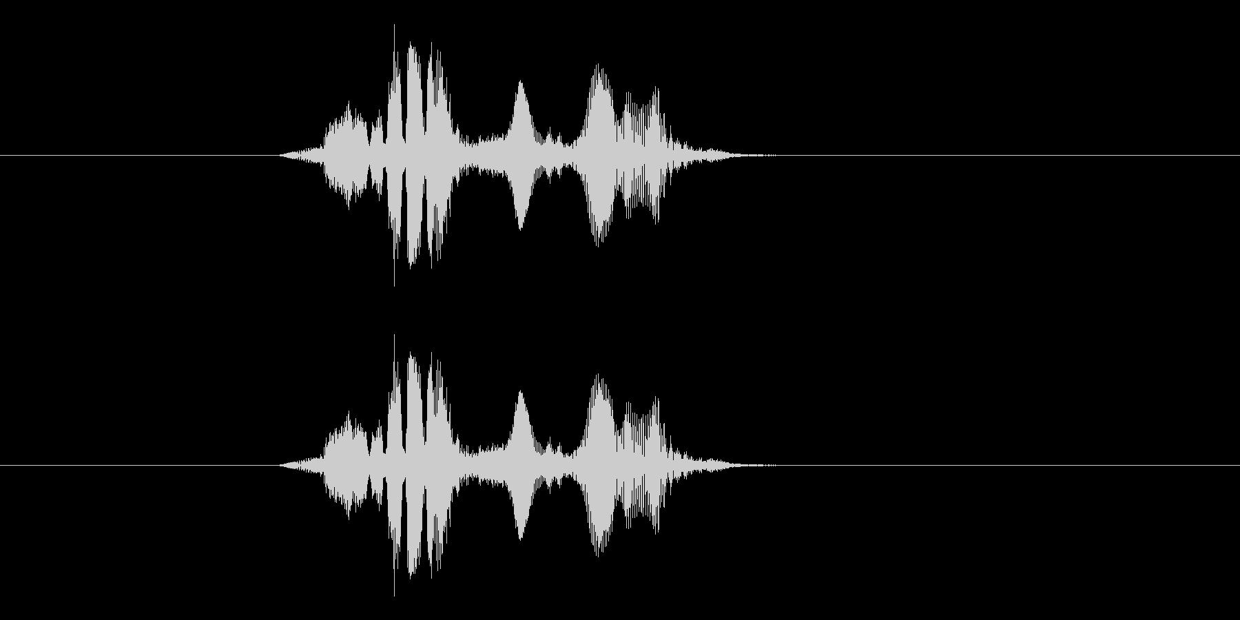 トゥレスウォァの未再生の波形